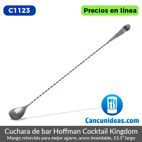 C1123-Cocktail-Kingdom-Cuchara-de-bar-Hoffman-Cancunideas