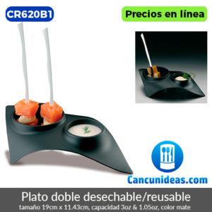 CR620B1-Plato-doble-color-negro-desechable-o-reusable-Cancunideas