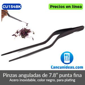 CU154BK-Pinzas-anguladas-negras-puntas-finas-de-7.8-pulgadas-Cancunideas
