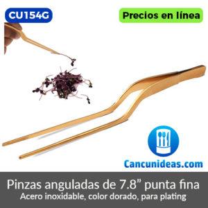 CU154G-Pinzas-anguladas-doradas-puntas-finas-de-7.8-pulgadas-Cancunideas