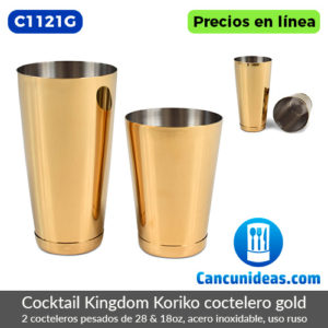C1121G-Cocktail-Kingdom-Koriko-2-cocteleros-pesados-28-y-18-oz-gold-Cancunideas