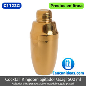 C1122G-Cocktail-Kingdom-agitador-ultra-pesado-Usagi-500ml-gold-plated-Cancunideas