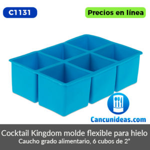 C1131-Cocktail-Kingdom-molde-flexible-para-hielo-6-cubos-Cancunideas