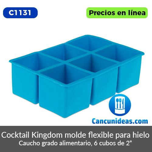 C1131-Cocktail-Kingdom-molde-flexible-para-hielo-6-cubos-Cancunideas