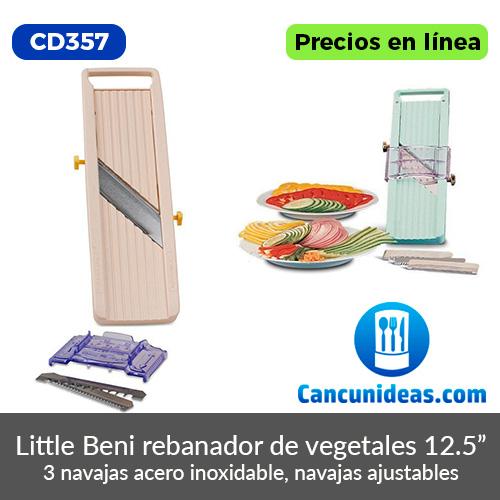 CD357-Benriner-Little-Beni-mandolina-rebanador-de-vegetales-Cancunideas