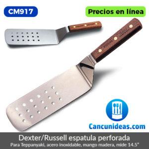 CM917-Dexter-Russell-espatula-perforada-para-Teppanyaki-de-5.5-pulgadas-Cancunideas
