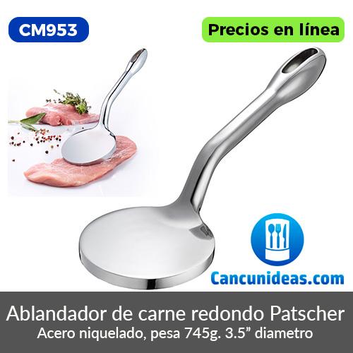 CM953-Ablandador-de-carne-redondo-Patscher-11.5-pulgadas-Cancunideas