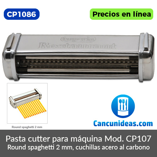 CP1086-Imperia-Simplex-pasta-cuttter-tipo-Round-Sphaghetti-2-mm-Cancunideas