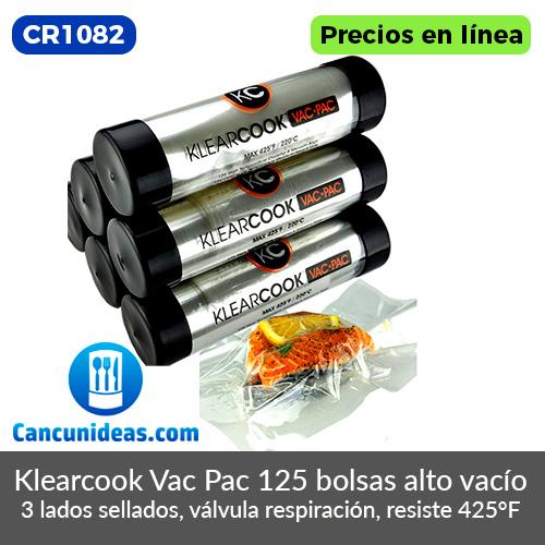 CR1082-Klearcook-Vac-Pac-bolsas-al-alto-vacio-Cancunideas