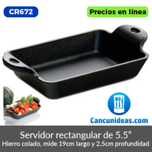 CR672-Lodge-servidor-de-hierro-fundido-forma-rectangular-Cancunideas