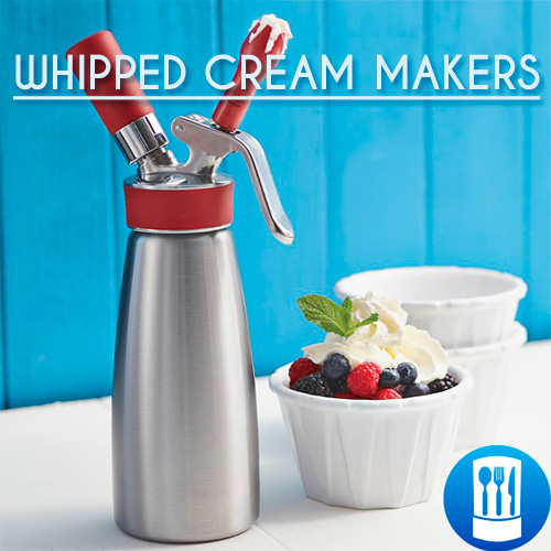 2.6.Whipped cream makers