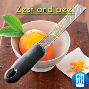 Zest and peel