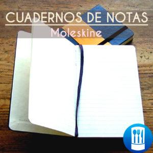 10.1.Cuadernos de notas Moleskine