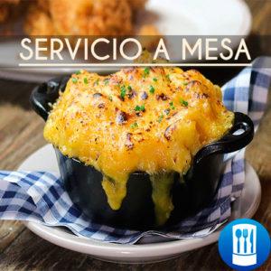14.Servicio a mesa